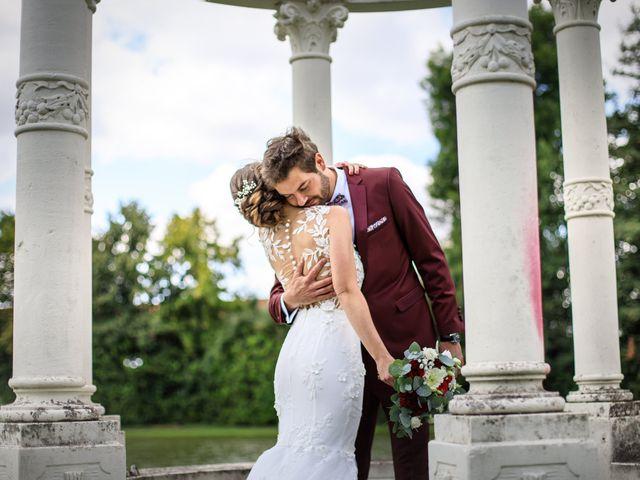 Le mariage de Martin et Alexandra à Vonnas, Ain 33