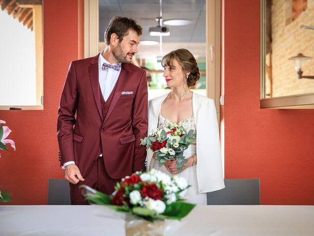 Le mariage de Martin et Alexandra à Vonnas, Ain 34