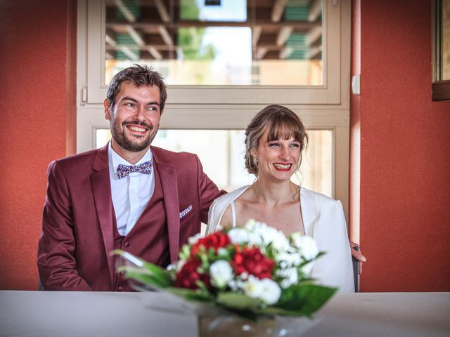 Le mariage de Martin et Alexandra à Vonnas, Ain 35