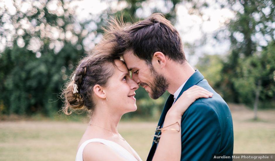 Le mariage de Pierre et Cécile à Ingrandes, Indre
