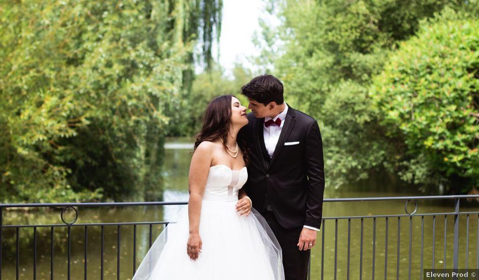 Le mariage de Antoine et Clara à Fougeré, Maine et Loire