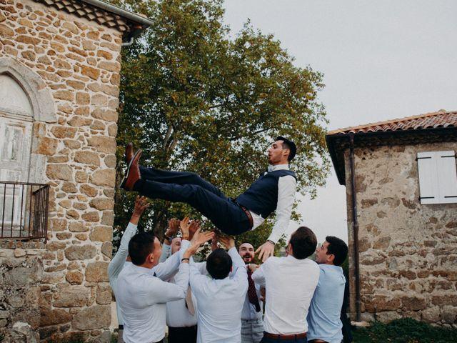 Le mariage de Guillaume et Virginie à Saint-Romain-d'Ay, Ardèche 10