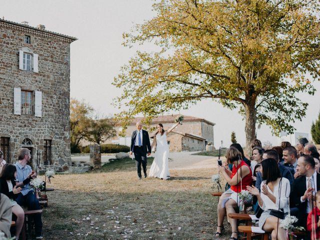 Le mariage de Guillaume et Virginie à Saint-Romain-d'Ay, Ardèche 14