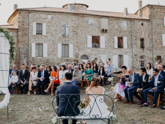 Le mariage de Guillaume et Virginie à Saint-Romain-d'Ay, Ardèche 20