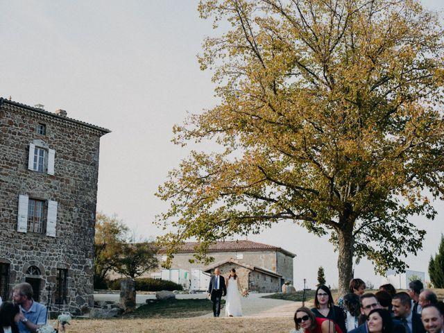 Le mariage de Guillaume et Virginie à Saint-Romain-d'Ay, Ardèche 90