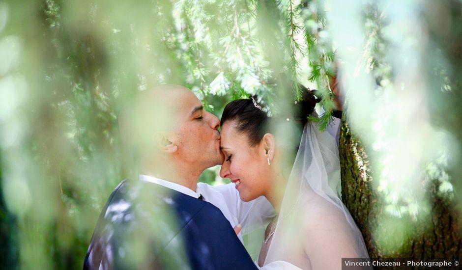 Le mariage de Kamel et Virginie à Saint-Étienne-des-Oullières, Rhône