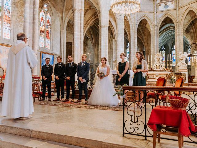 Le mariage de Corentin et Charlotte à Bazas, Gironde 4