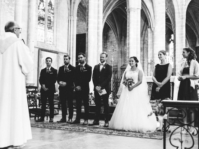 Le mariage de Corentin et Charlotte à Bazas, Gironde 5