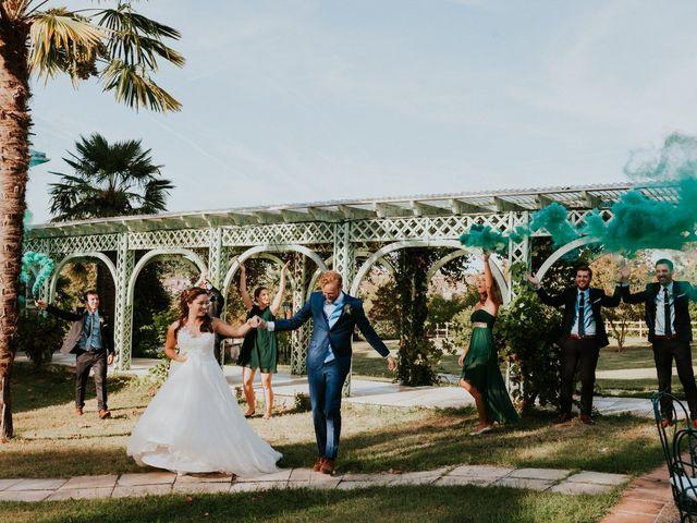 Le mariage de Corentin et Charlotte à Bazas, Gironde 12