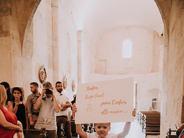 Le mariage de Romain et Anaïs à Romegoux, Charente Maritime 19