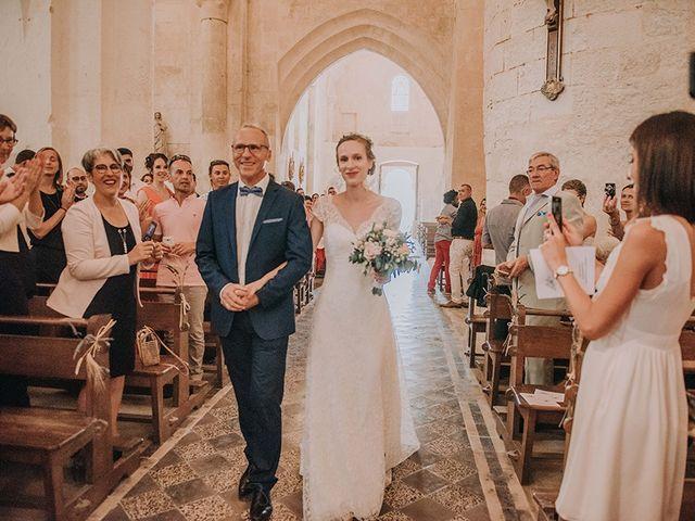 Le mariage de Romain et Anaïs à Romegoux, Charente Maritime 20