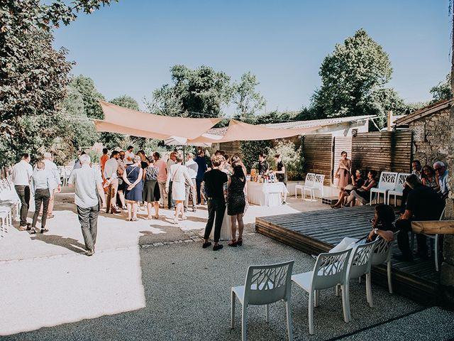 Le mariage de Romain et Anaïs à Romegoux, Charente Maritime 43