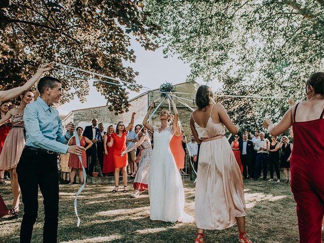 Le mariage de Romain et Anaïs à Romegoux, Charente Maritime 46