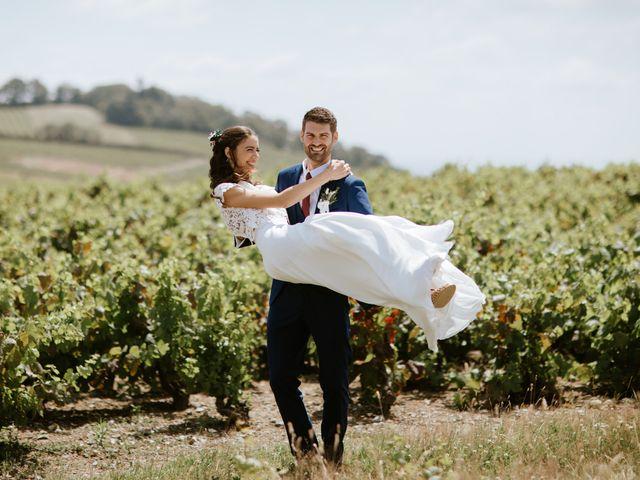 Le mariage de Julien et Laure Aude à Pruzilly, Saône et Loire 29