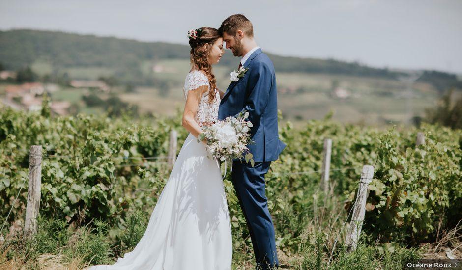 Le mariage de Julien et Laure Aude à Pruzilly, Saône et Loire
