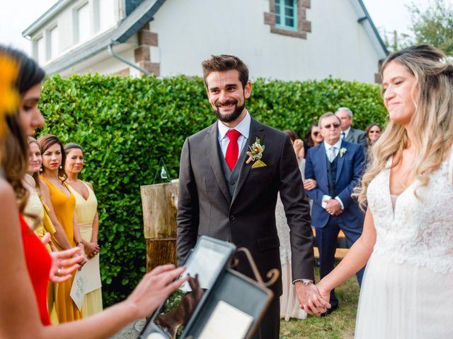 Le mariage de Leonardo et Lorrayne à Trébeurden, Côtes d'Armor 84