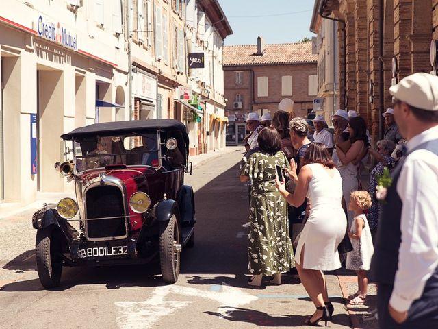 Le mariage de Jérôme et Delphine à L'Isle-Jourdain, Gers 12