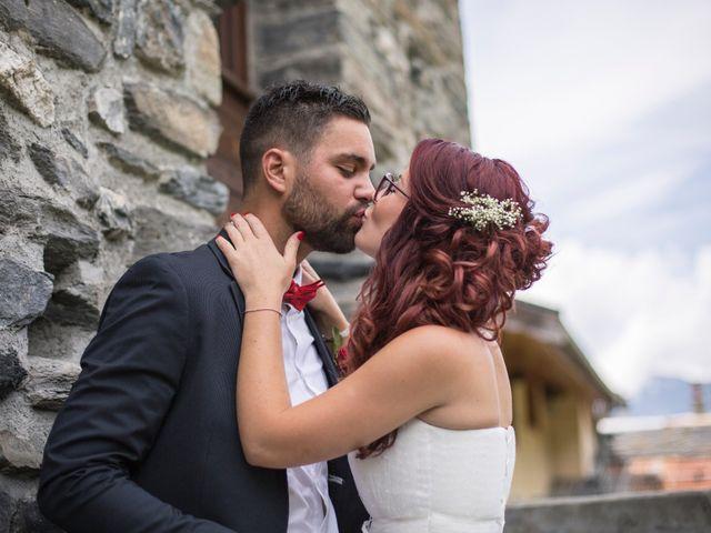 Le mariage de Raphaëlle  et Estebane  à Salins-les-Thermes, Savoie 33