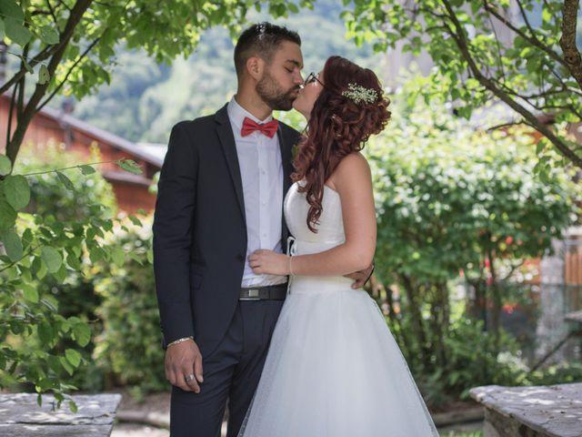 Le mariage de Raphaëlle  et Estebane  à Salins-les-Thermes, Savoie 46
