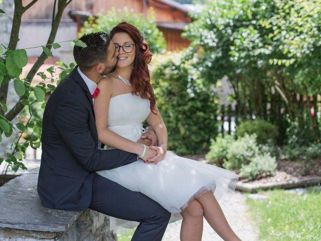 Le mariage de Raphaëlle  et Estebane  à Salins-les-Thermes, Savoie 47