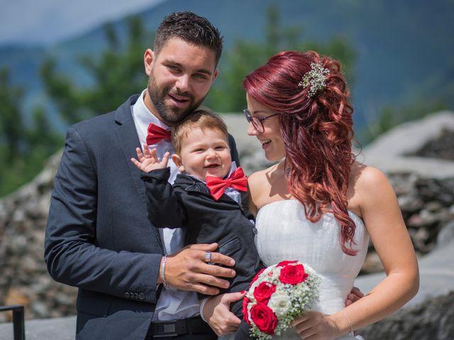 Le mariage de Raphaëlle  et Estebane  à Salins-les-Thermes, Savoie 56