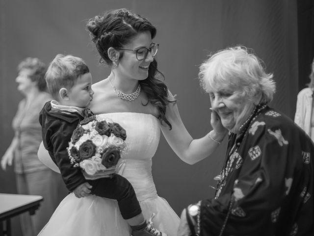 Le mariage de Raphaëlle  et Estebane  à Salins-les-Thermes, Savoie 74