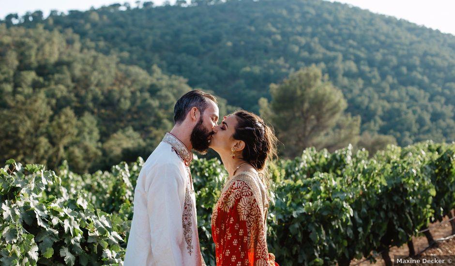 Le mariage de Anthony et Shamee à Pierrefeu-du-Var, Var