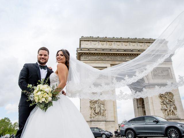 Le mariage de Hassan et Mona à Paris, Paris 1