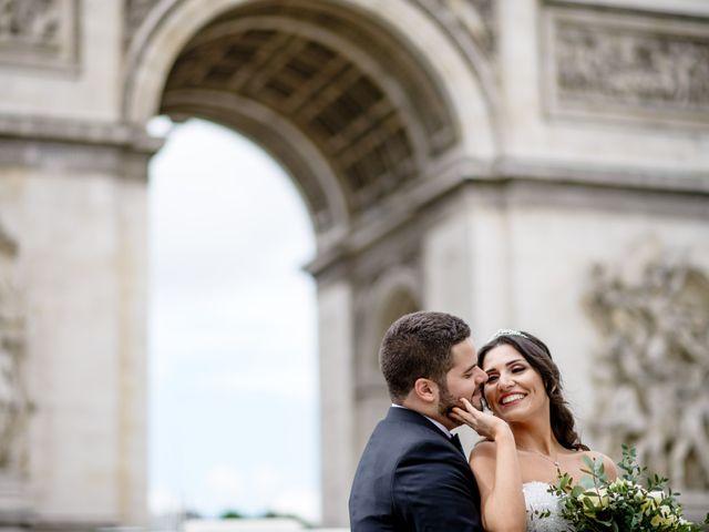 Le mariage de Hassan et Mona à Paris, Paris 2