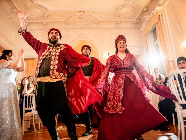 Le mariage de Hassan et Mona à Paris, Paris 17
