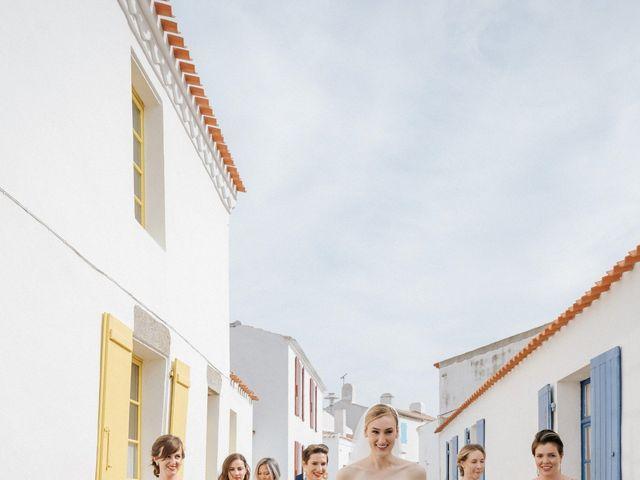 Le mariage de Leo et Kate à Port-Joinville, Vendée 48