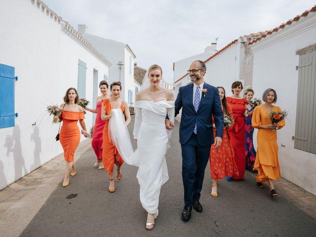 Le mariage de Leo et Kate à Port-Joinville, Vendée 49