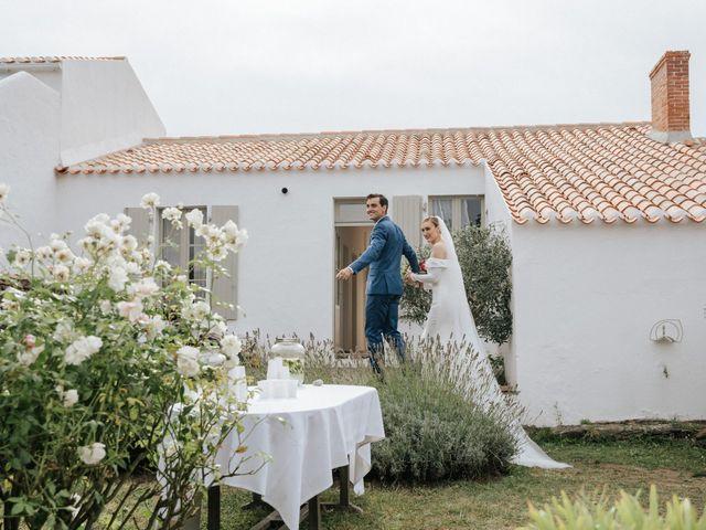 Le mariage de Leo et Kate à Port-Joinville, Vendée 62