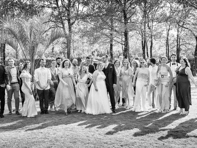 Le mariage de Alexandre et Julie à Biscarrosse, Landes 19