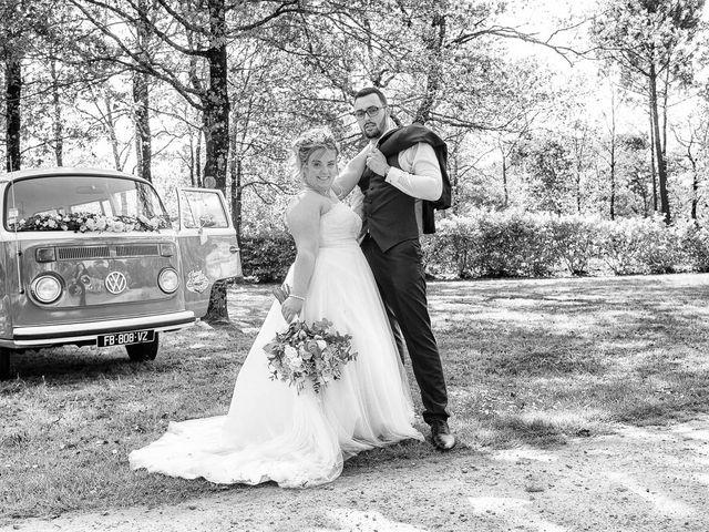 Le mariage de Alexandre et Julie à Biscarrosse, Landes 94