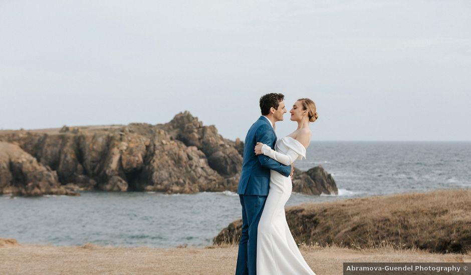 Le mariage de Leo et Kate à Port-Joinville, Vendée