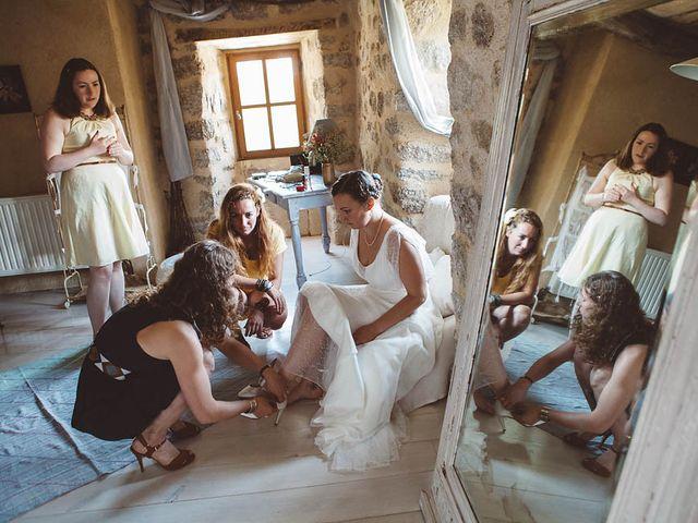 Le mariage de Vincent et Amélie à Génolhac, Gard 8
