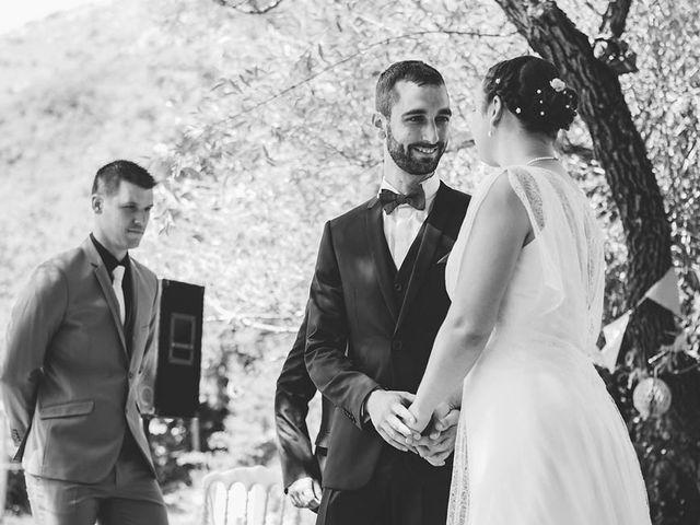Le mariage de Vincent et Amélie à Génolhac, Gard 17