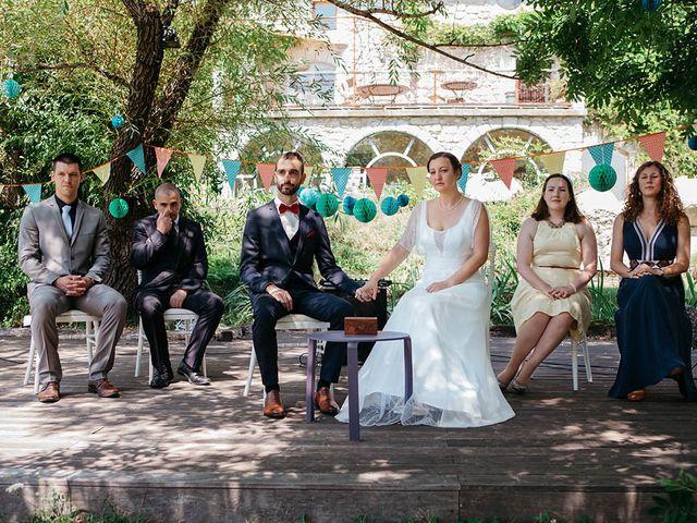 Le mariage de Vincent et Amélie à Génolhac, Gard 20