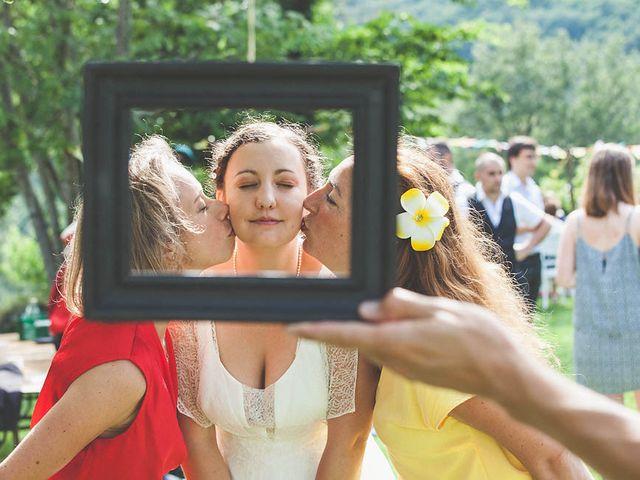 Le mariage de Vincent et Amélie à Génolhac, Gard 21