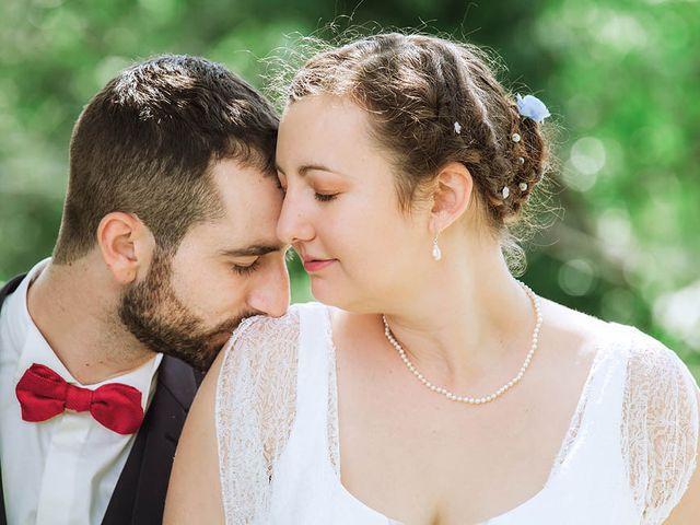 Le mariage de Vincent et Amélie à Génolhac, Gard 22