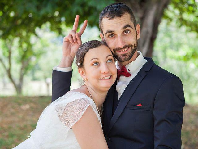 Le mariage de Vincent et Amélie à Génolhac, Gard 25