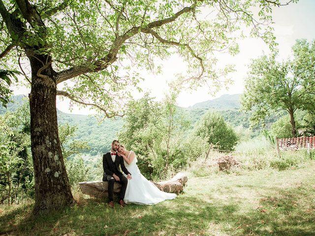 Le mariage de Vincent et Amélie à Génolhac, Gard 26