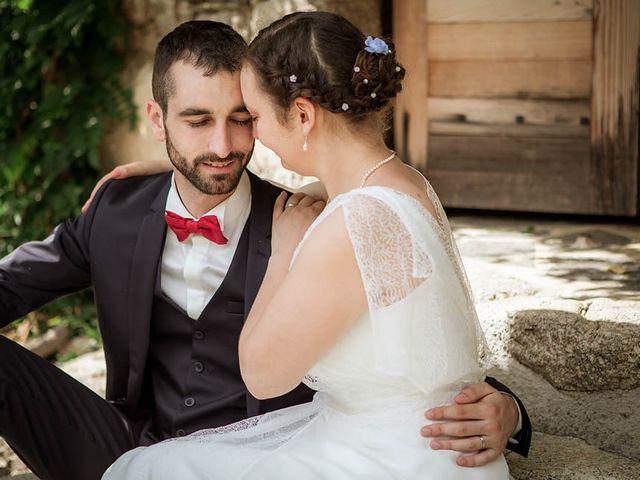 Le mariage de Vincent et Amélie à Génolhac, Gard 27