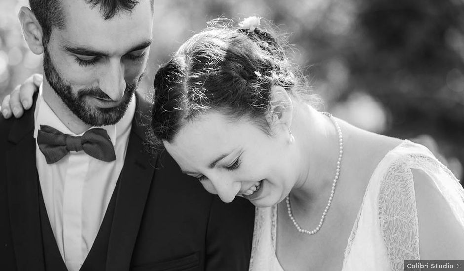 Le mariage de Vincent et Amélie à Génolhac, Gard