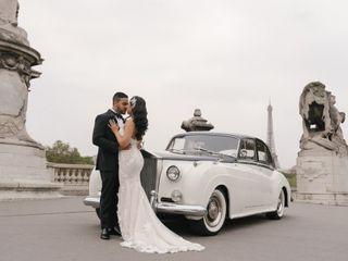 Le mariage de Raquel et Hezrell