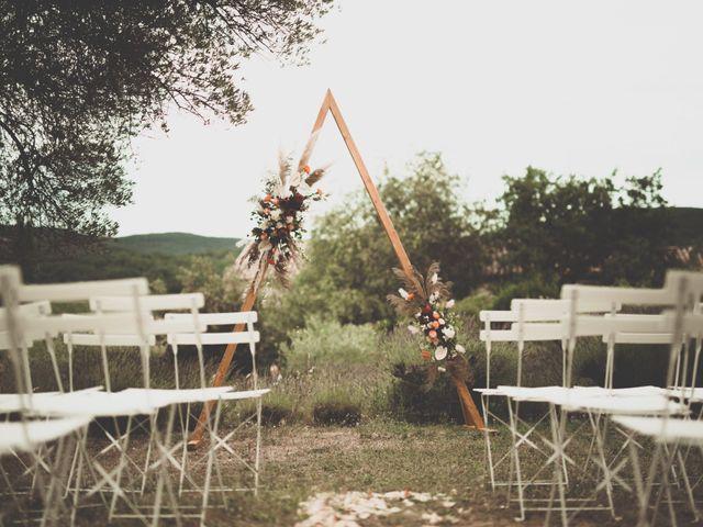 Le mariage de Rick et Marie à Saint-Christol-de-Rodières, Gard 20