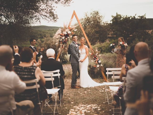 Le mariage de Rick et Marie à Saint-Christol-de-Rodières, Gard 27