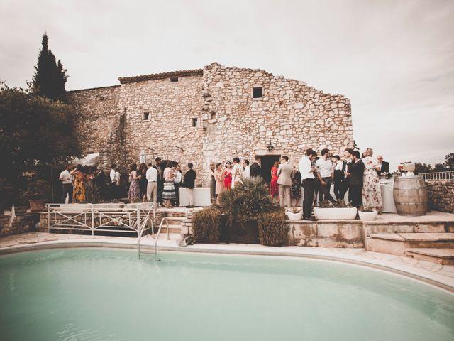 Le mariage de Rick et Marie à Saint-Christol-de-Rodières, Gard 30