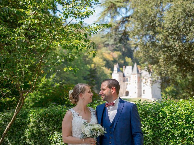 Le mariage de Guillaume et Lucie à Autrèche, Indre-et-Loire 10
